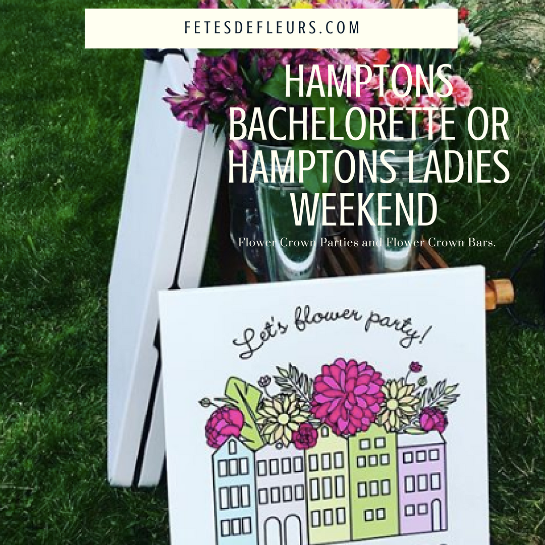 hamptons girls weekend