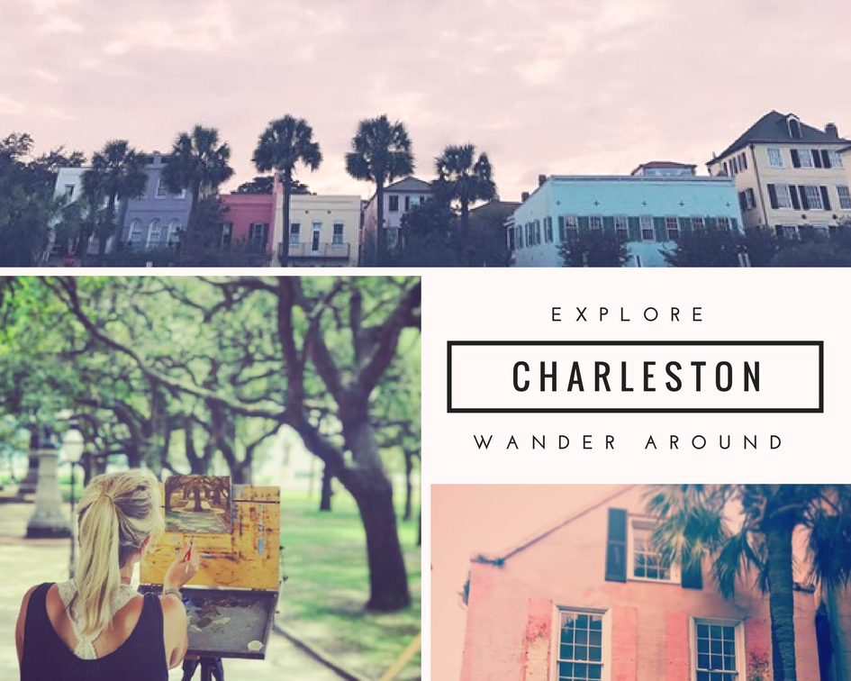 how to explore charleston sc