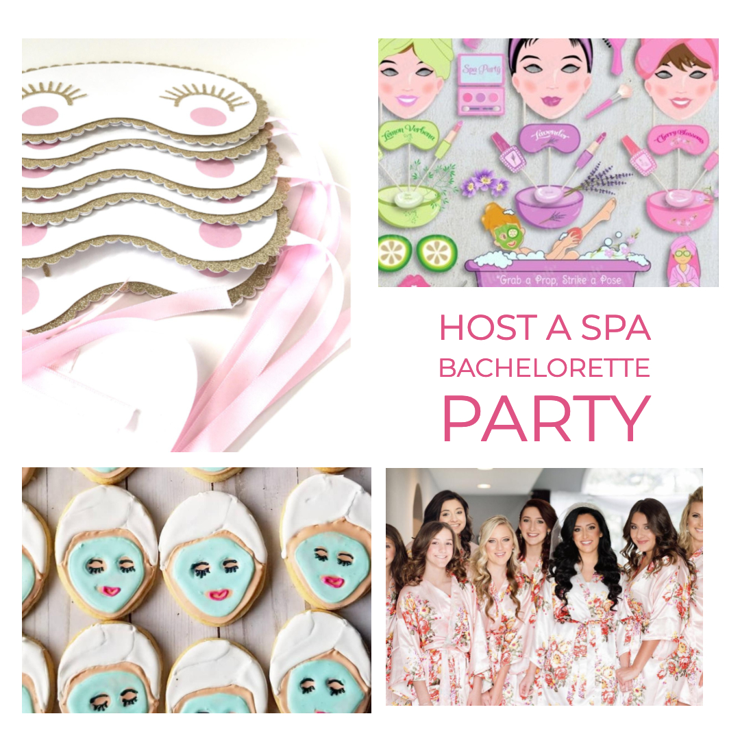 how to host a spa bachelorette party