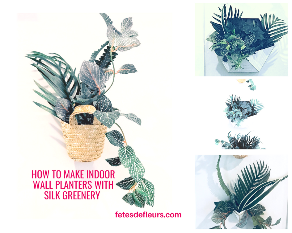 how to make indoor wall planters
