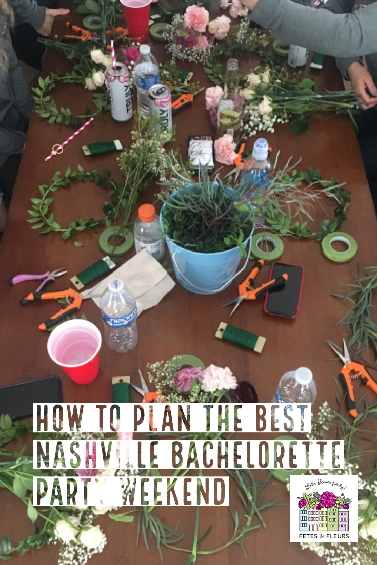 how to plan a fun nashville bachelorette party weekend