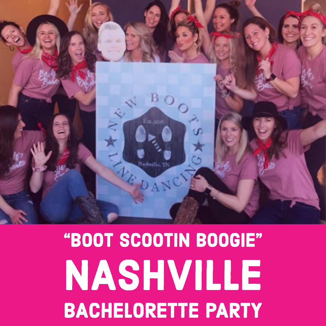learn to line dance on your nashville girls weekend or bachelorette party