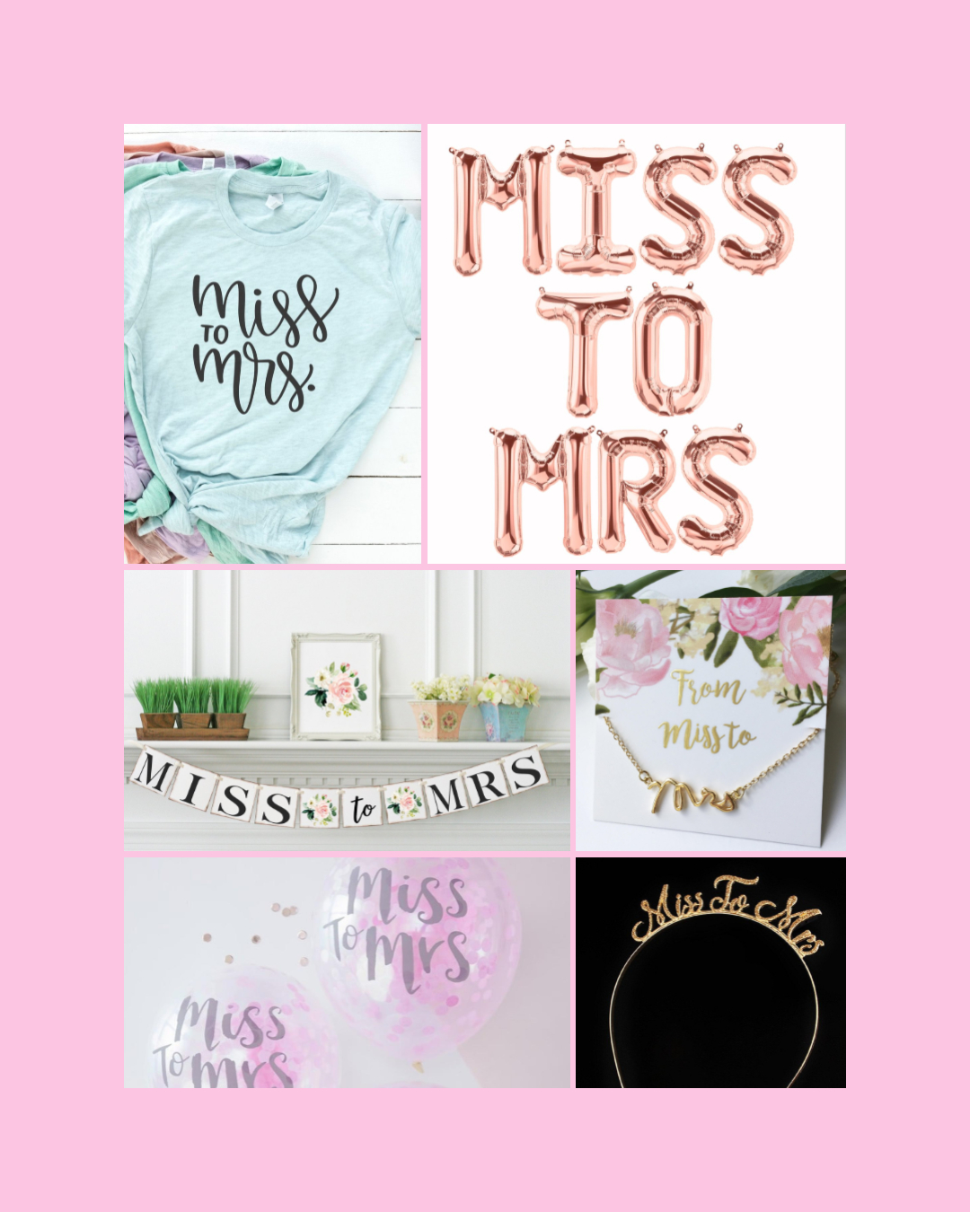 miss to mrs bachelorette supplies and decorations