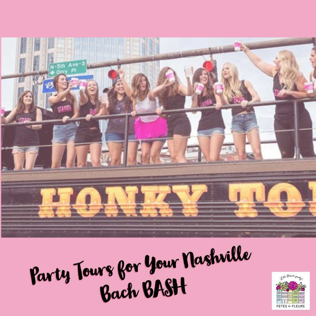 nashville bachelorette party tours  for your nashville bachelorette