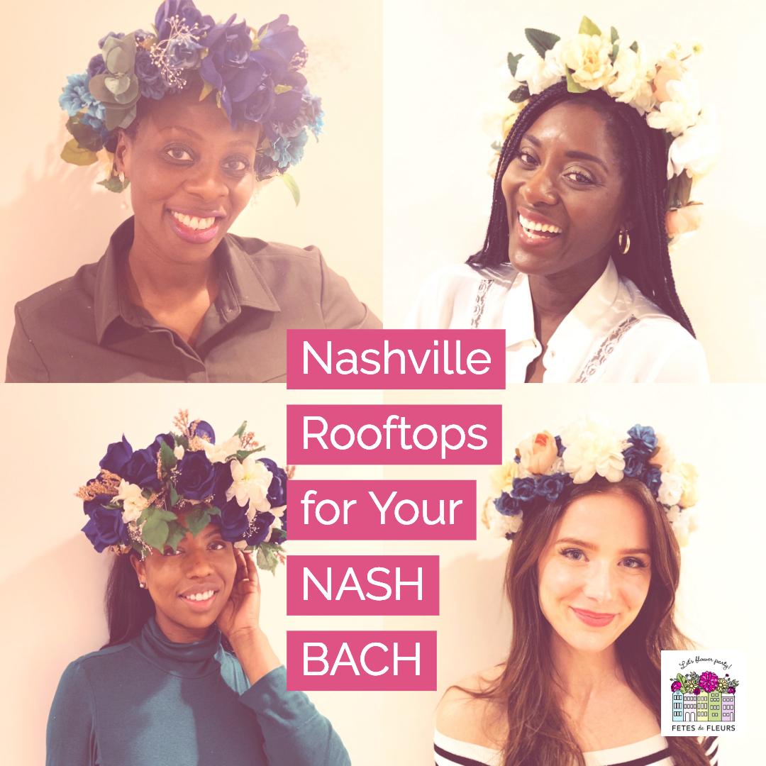 nashville rooftops for your nashville bachelorette party
