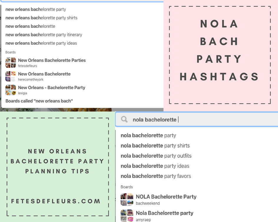 nola bachelorette party hashtags