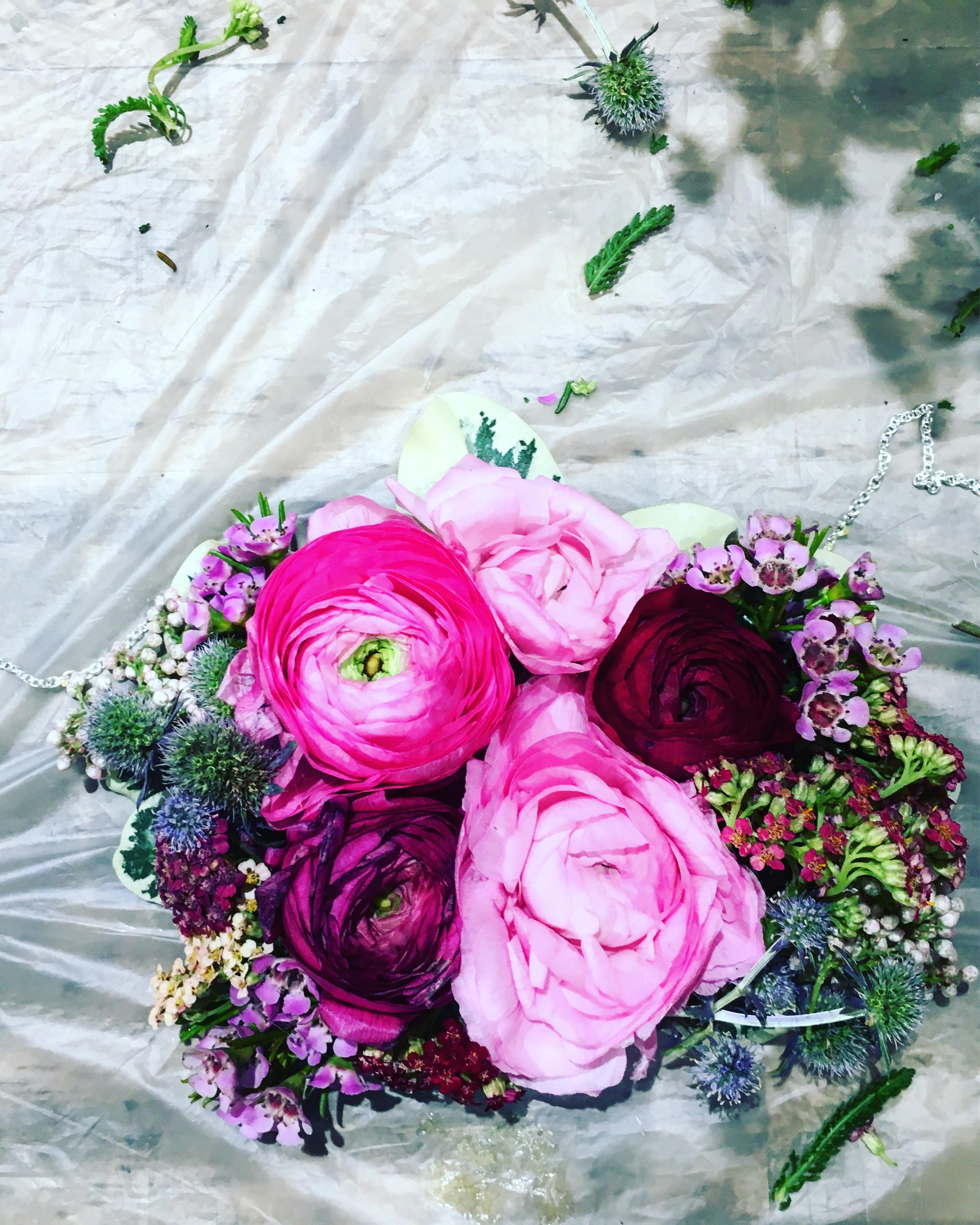 Summer wedding hair piece trends 2017 wedding flower crowns real flower necklace izmirmasajfo