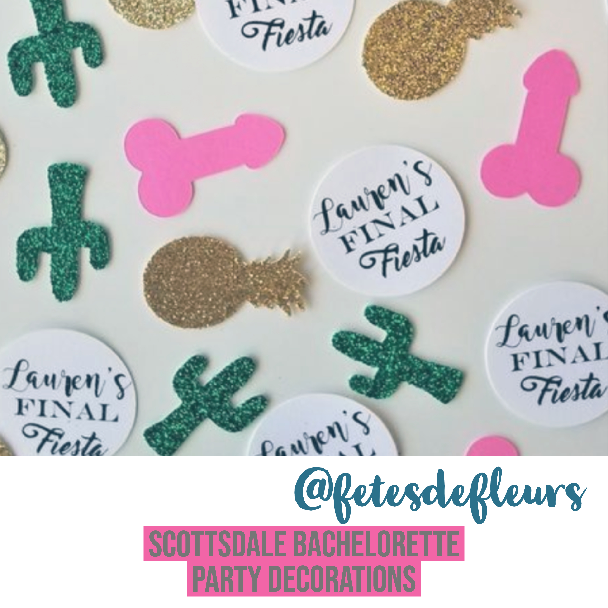 scottsdale bachelorette party decorations