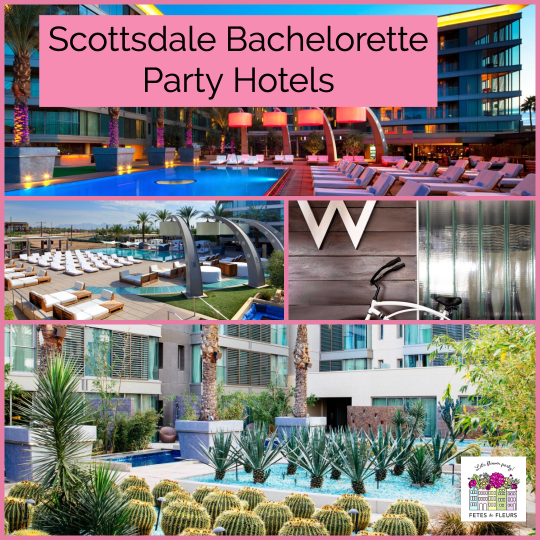 scottsdale bachelorette party hotels