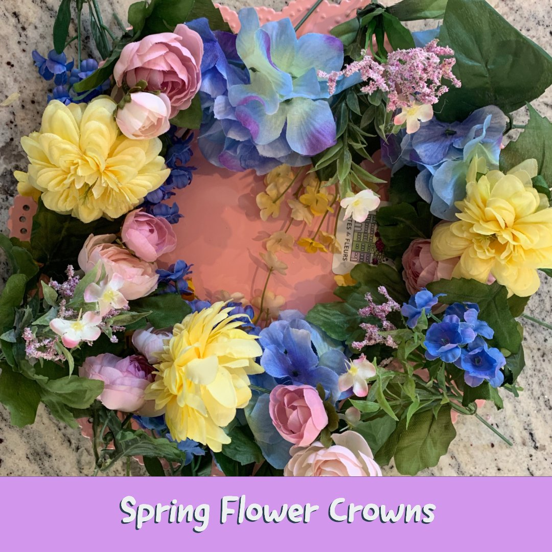 spring flower crowns