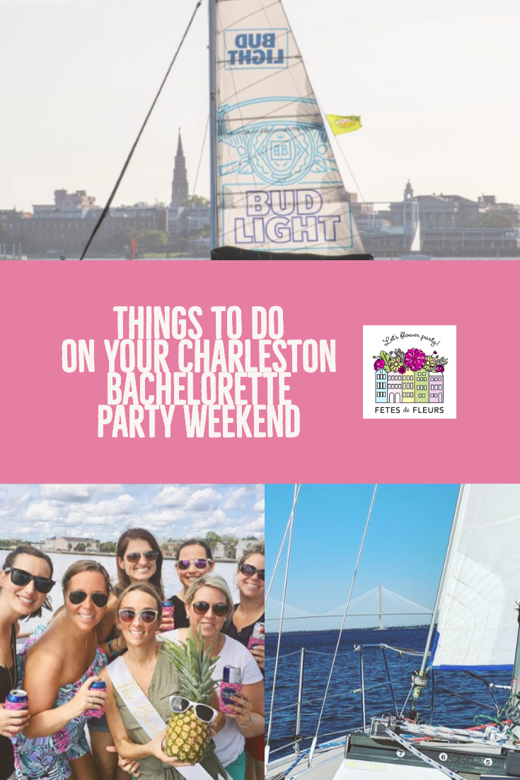 things to do on your charleston bachelorette party weekend
