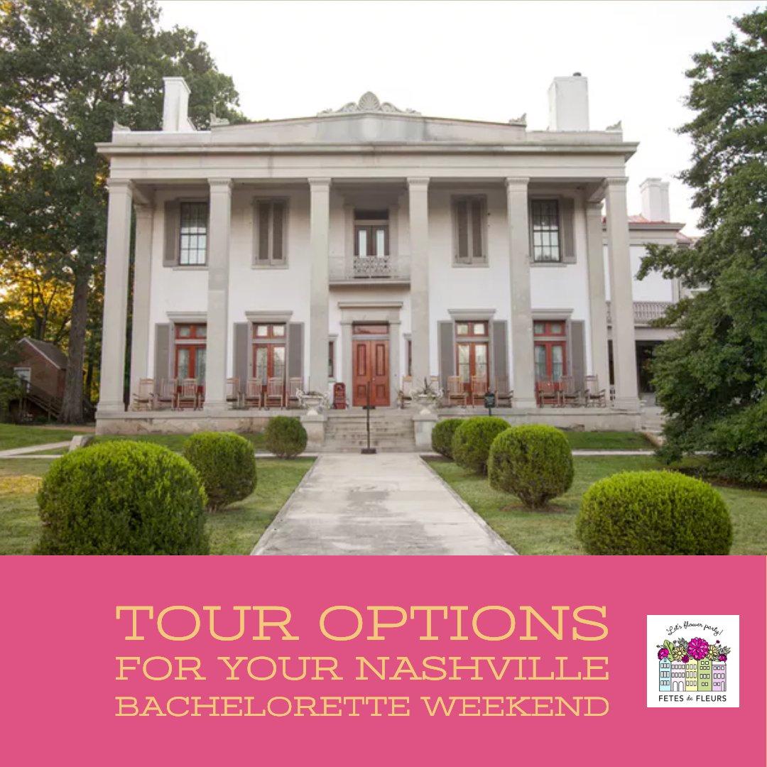 tour options for your nashville bachelorette party