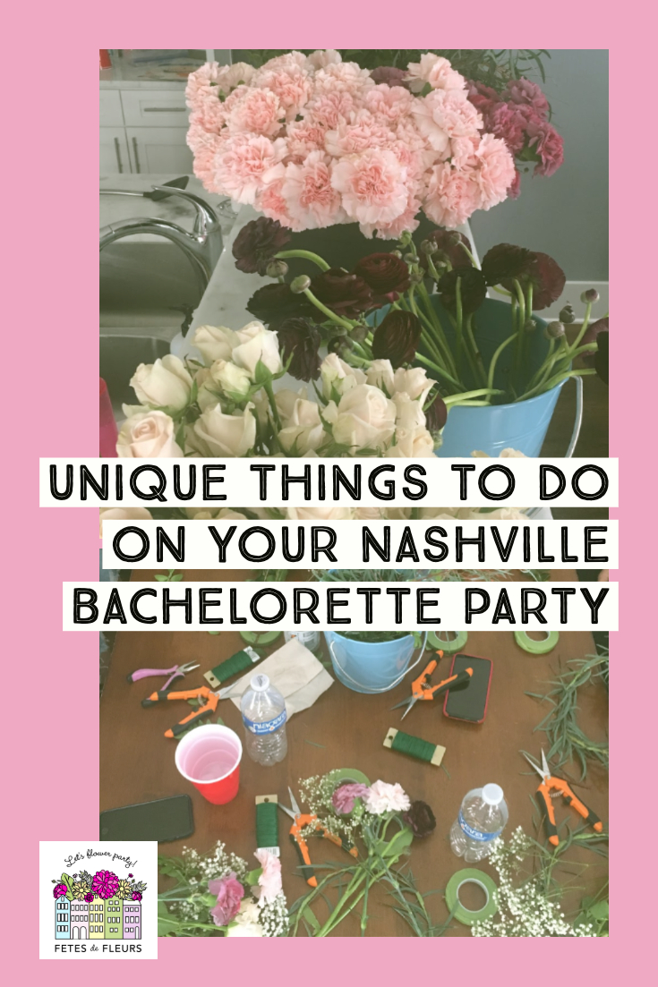 unique things to do on your nahsville bachelorette party weekend