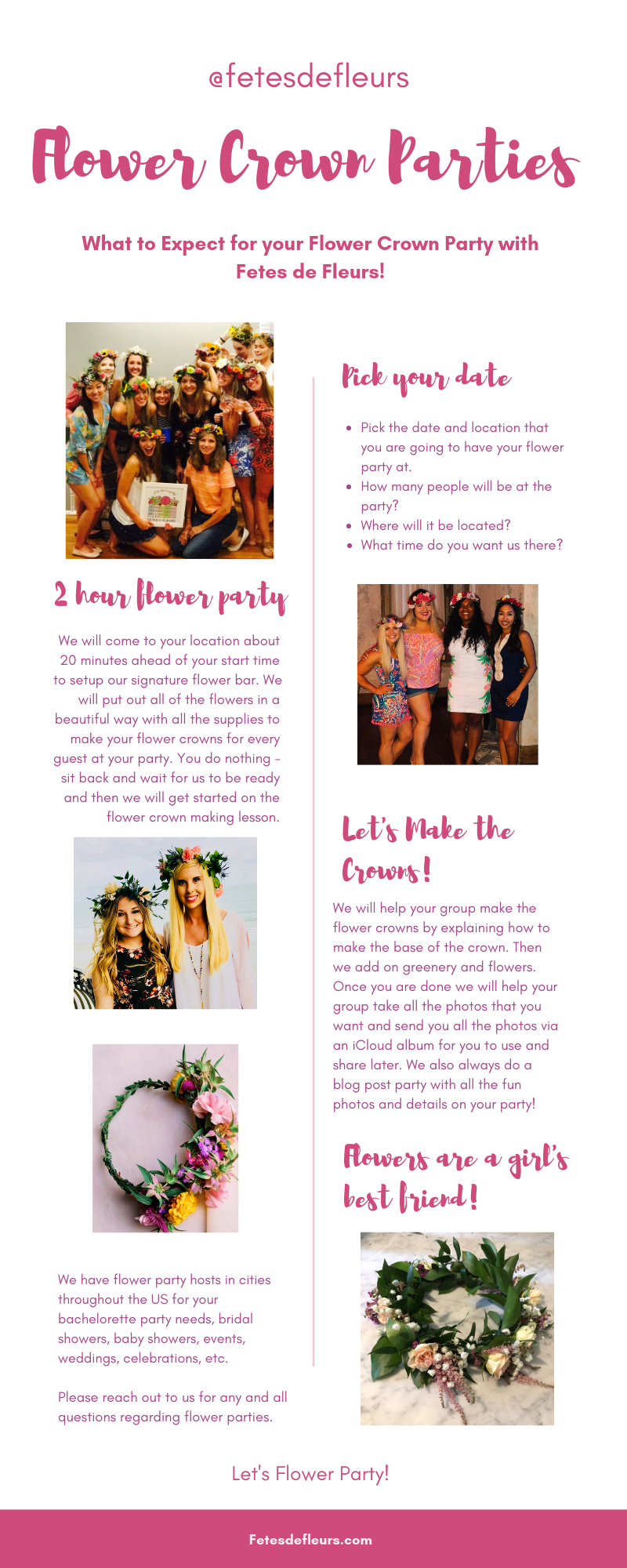 flower crown workshops