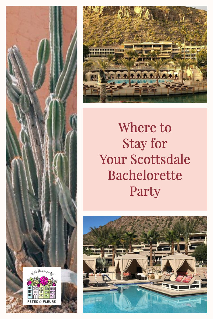 where to stay for your scottsdale bachelorette party weekend