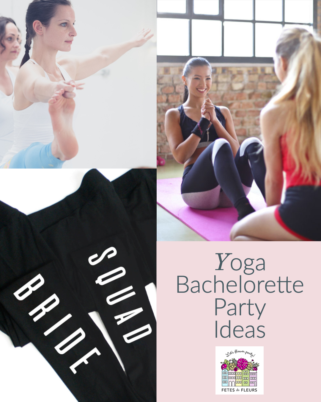 yoga bachelorette party ideas